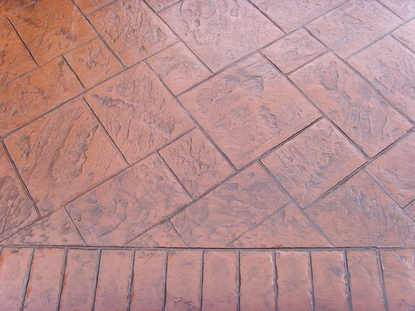 Printed Concrete by Flintstone Driveways